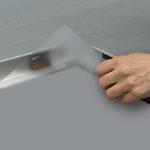 Clip rám 35 mm uzamykatelný venkovní s ostrými rohy