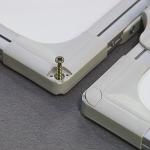 Triptych bílý lakovaný magnetický 120x90/240 cm