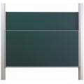 Pylonová tabule se dvěma plochami 400x120 cm