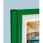 Exteriérová vitrína CLASSIQUE křídlová 750x750 mm 6xA4