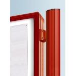 Vývěsková vitrína 3000 výklopná oboustranná 1710x1350 mm