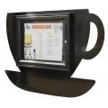 Restaurační vitrína Šálek kávy 400x550 mm