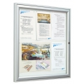 Exteriérová vitrína TRADITION křídlová 1050x750 mm 9xA4