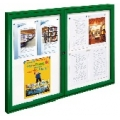 Exteriérová vitrína TRADITION dvoukřídlá 1050x1400 mm 12xA4