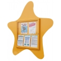 Zábavná vitrína Mořská hvězdice 750x750 mm